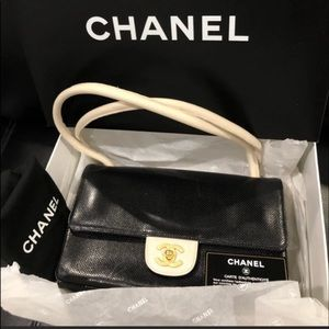 Chanel Perforated Lambskin Small Bag